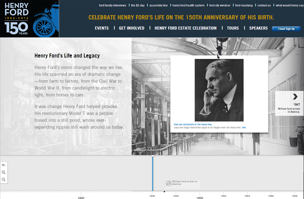 Driven Solutions Inc. Partners with Biznet Digital and Motorcities.org to Create a Website in Celebration of Henry Ford's 150th Anniversary of His Birth