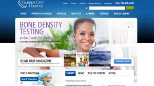 Garden City Hospital Website