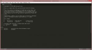 Edit hosts file