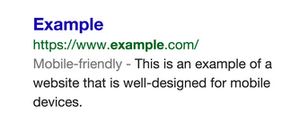 Official Google Webmaster Central Blog Helping users find mobile friendly pages