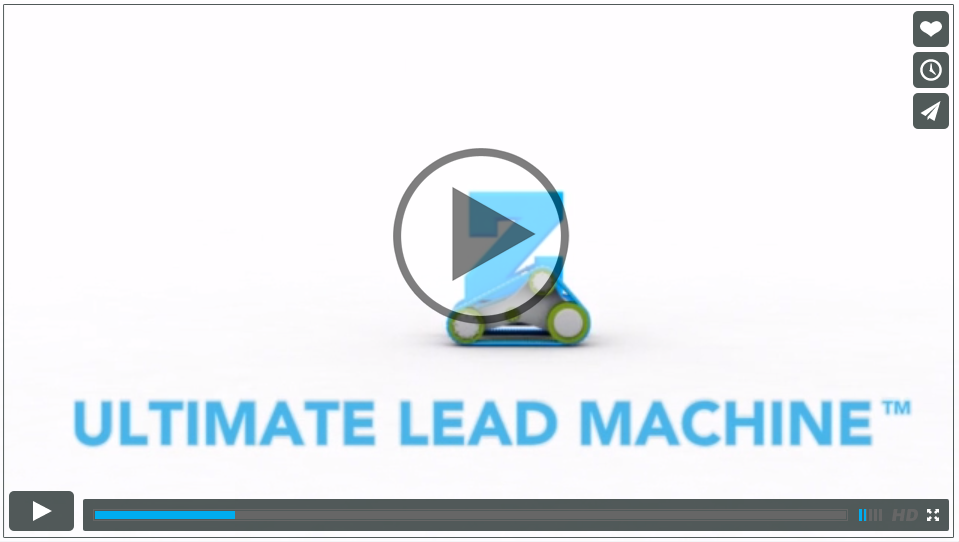 Check this Out, it's Our New Commercial. Introducing, the Ultimate Lead Machine