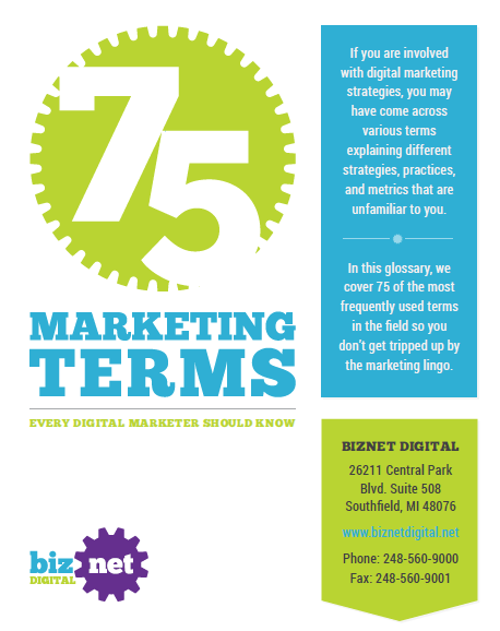 75 Marketing Terms Explained