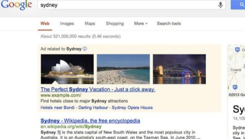 Google AdWords Now Testing Images in Sponsored Links