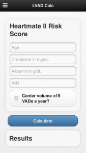 LVAD Calculator App