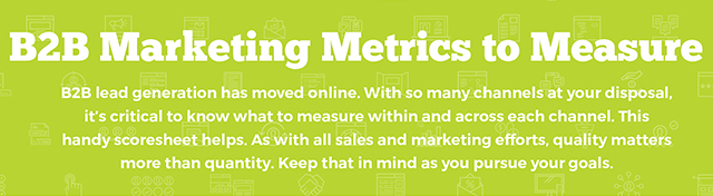 B2B Marketing Metrics to Measure